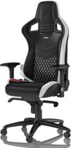 Noblechairs EPIC Real Leather Gaming Zw/Wit/Rd