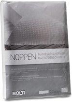 Noppen matrasbeschermer 90x200