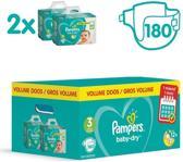 Pampers baby dry maat 3 voordeelbox 180 stuks