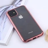 Mobigear Transparant TPU Case Rose Goud Apple iPhone 11 Pro