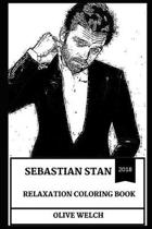 Sebastian Stan Relaxation Coloring Book