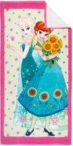 Disney Frozen Sisters sunflowers - Strandlaken - 70 x 140 cm - Multi