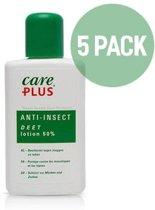 5X Care Plus Deet 50 procent anti mug /  lotion 50 ml - Voordeelverpakking