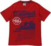 Losan jongens Shirt Rood met print - Maat 140