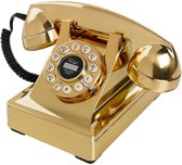 Wild & Wolf Serie 302 - Retro telefoon - Goud