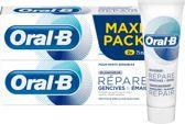 Oral-B Tandvlees & Glazuur Repair Zachte Whitening - 2 x 75ml - Tandpasta