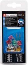 Car Plus Autozekeringenset Mini 12 Volt 10-delig