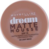 Maybelline Dream Matte Mousse - 08 Light Beige - Foundation