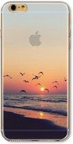Lovebay Hoesje iPhone 6, 6S - Zee zonsondergang