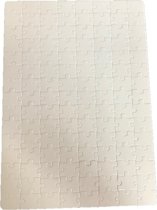 Blanco leg puzzel - 120 stukjes - 28 x 20 CM - 2 stuks - om zelf te maken-