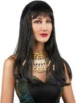 Egyptische koninginnenpruik voor dames - Verkleedpruik
