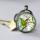 Sleutelhanger Kolibrie voor vrouwen en mannen uniek geschenk