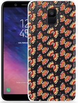 Galaxy A6 2018 hoesje Butterflies