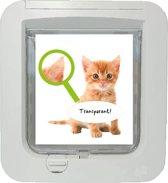 Kattenluik-sticker: Kitten 18x17 cm
