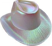 Lg-imports Cowboyhoed Glans Unisex One Size Wit
