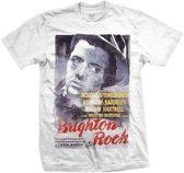 StudioCanal - Brighton Rock heren unisex T-shirt wit - L