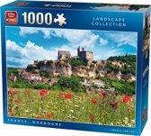 Puzzel Dordogne Frankrijk 1000 stukjes