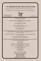Cuadernos de Psicoan lisis, Enero-Junio de 2016, Volumen XLIX, N meros 1 Y 2