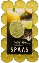 Theelicht 4,5 h - zuiderse citrus - set van 90 stuks