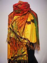 Paco's Sitges Art Dames Wintersjaals