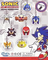 Sonic the Hedgehog Head Dangler Gashapon