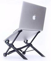 Nextstand K2 laptop standaard - Zwart - Ergonomisch werken -  Verstelbaar in 8 standen - Makkelijk opvouwbaar