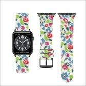 Fab-straps Katoenen bandje - Apple Watch Series 1/2/3 (42mm) - Geel