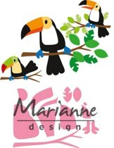 Marianne Design Collectable Elines toekan COL1457 83x73 milimeter