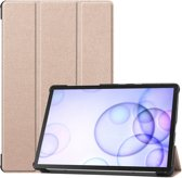 Samsung Galaxy Tab S6 Hoesje - Smart Book Case - Goud