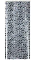 Arisol Vliegengordijn - 'kattenstaart' - 220x90 Cm - Grijs/blauw