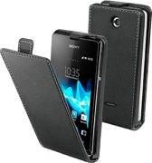 muvit Sony MFX Xperia E Slim Case Black