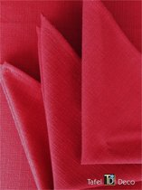 Servet Marysia rood , 6 stuks, 36x36 cm