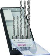 Bosch - 5-delige Robust Line hamerborenset SDS-plus-7 5; 6; 6; 8; 10 mm