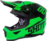 Shot Crosshelm Furious Spectre Neon Green Gloss-M