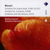 Moza:Piano Duets/Kv