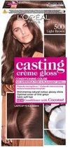 L'Oréal Paris Casting Crème Gloss 500 - Lichtbruin - Haarverf