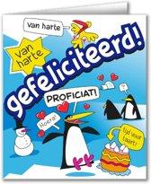 Paperdreams - Wenskaart - Cartoon - Gefeliciteerd