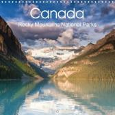 Schonnop, J: Canada Rocky Mountains National Parks (Wall Cal