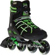 Rollerblade Macroblade 80 Inline  Inlineskates - Maat 42 - Mannen - zwart/groen