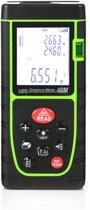 Camenco digitale laser afstandsmeter - 40 meter - Stof- en spatwaterdicht - Zwart-groen