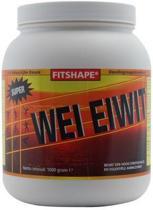 Fitshape Wei Eiwit Banaan - 1000 gram - Eiwitshake - Sportvoeding