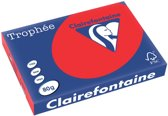 Clairefontaine Trophée Intens A3 koraalrood 80 g 500 vel