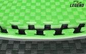 9m2 4CM Groen/Zwart Legend Puzzelmatten sport  Default