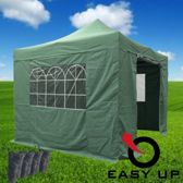 Easy Up - Partytent 3x3 - Groen