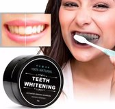 3 PACK - Natural Teeth Whitening - Activated Charcoal Tandenbleker - Organic