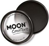 Moon Creations Schmink Pro Face Paint Cake Pots 36 Gram Zwart
