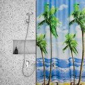 Roomture - douchegordijn - Beachlife - 120 x 200 cm