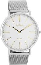 OOZOO Vintage C7386 - Horloge - Zilver/Goud