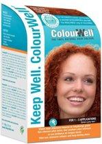 Colourwell haarkl.koper rood 100 gr
