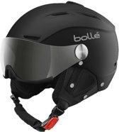 Bollé Backline visor - Skihelm - Unisex - Zwart - Maat 56-58